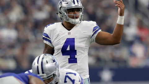 Cowboys: Take the reins off Dak Prescott