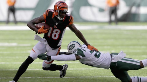 Bengals wideout A.J. Green torches Jets cornerback Darrelle Revis