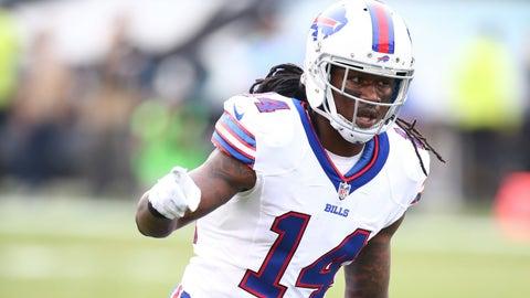 Sammy Watkins, WR, Bills (foot): Active