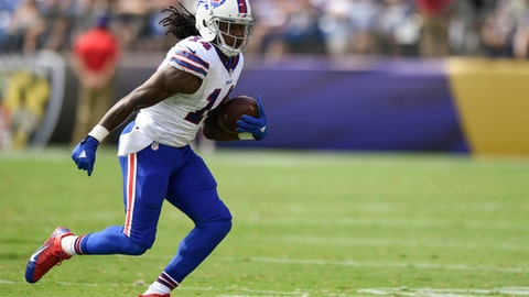 Sammy Watkins, WR, Bills (foot)