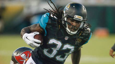 Chris Ivory, RB, Jaguars (general medical issue)