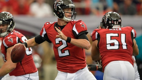 Atlanta Falcons (last week: 21)