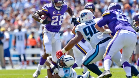 Adrian Peterson and the Vikings' rushing offense