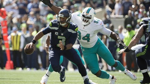 Mario Williams, DE, Dolphins (concussion)