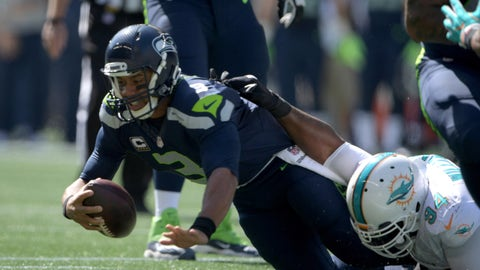 Russell Wilson, QB, Seahawks (ankle)