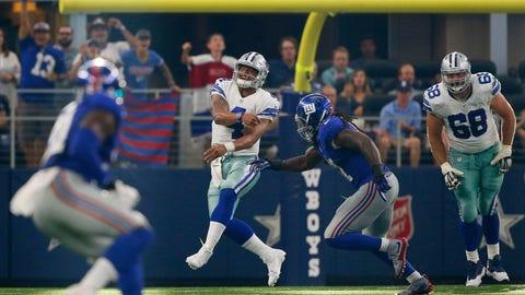 Giants 20, Cowboys 19