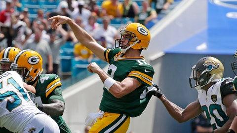 Packers 27, Jaguars 23