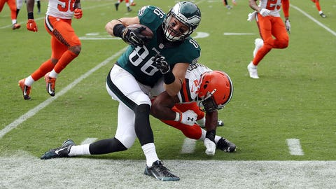 Zach Ertz, TE, Eagles (rib)