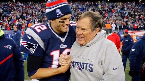 New England Patriots, $3.4 billion