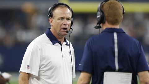 Scott Linehan, Cowboys offensive coordinator