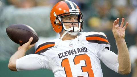 Josh McCown -- OVER passing yards (225.5)
