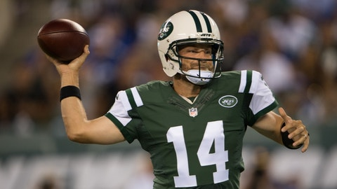 New York Jets: Ryan Fitzpatrick, QB, age 33