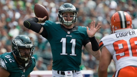 Philadelphia Eagles at Chicago Bears, 8:30 p.m. Monday ESPN
