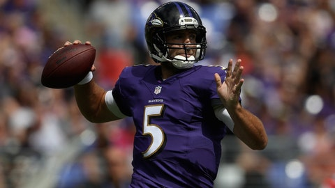 John Harbaugh, on Joe Flacco