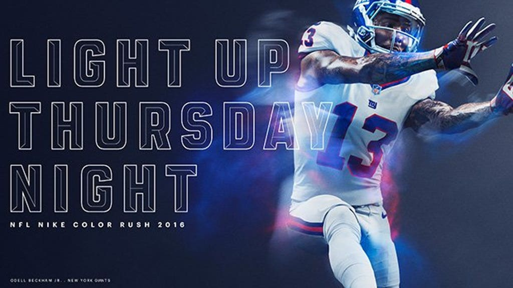 huge discount 85438 0f500 A first look at Color Rush uniforms for all 32 teams | FOX ...
