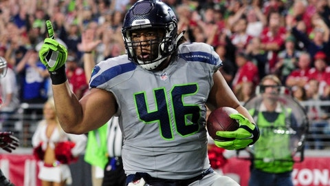 Seattle Seahawks: Will Tukuafu, FB, age 32