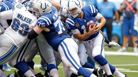 Andrew Luck, Colts
