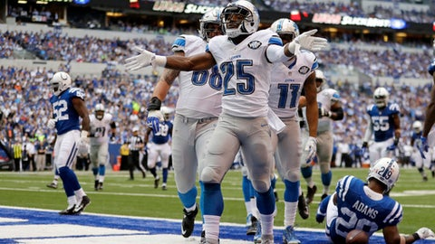 Tennessee Titans at Detroit Lions, 1 p.m. CBS (706)
