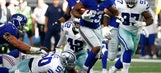 Offensive line and Jennings find running game for Giants