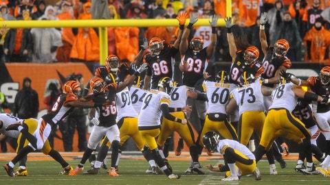 Chris Boswell, K, Steelers (abdomen): Doubtful