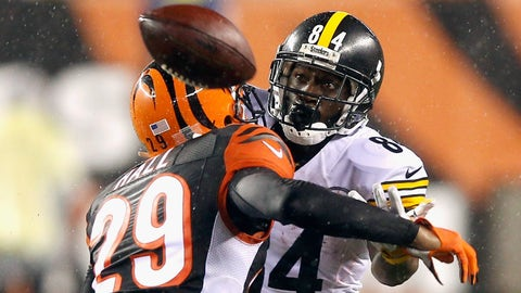 STEELERS (-3) vs. Bengals (Over/under: 48.5)