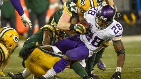 Green Bay Packers at Minnesota Vikings, 8:30 p.m. NBC