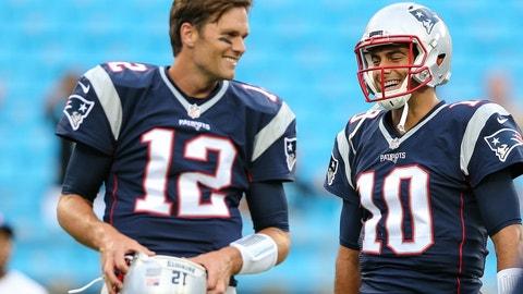 New England Patriots: Tom Brady starts to show his age