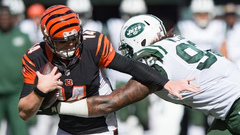 Andy Dalton: reentering atmosphere