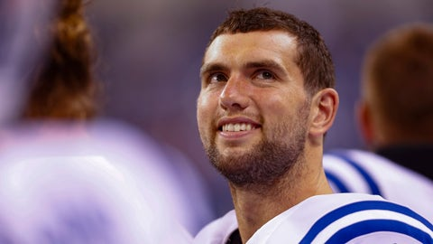 Andrew Luck: entering the thunder dome