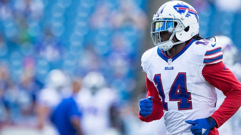 Sammy Watkins, WR, Bills (foot): Out
