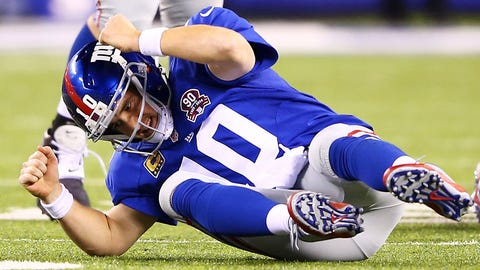 New York Giants (4-3): 3 covers ATS, 1 push