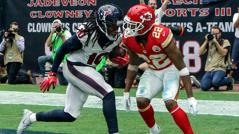 DeAndre Hopkins will win matchup with Marcus Peters