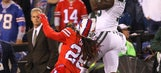 Jets' Marshall returns after left knee checks out fine