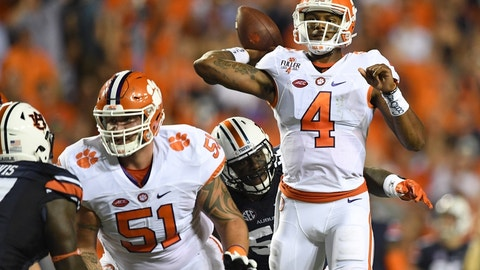 No. 5 Clemson 59, South Carolina State 0