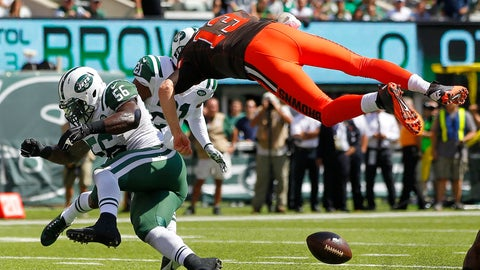 Josh McCown learns a lesson about taking flight