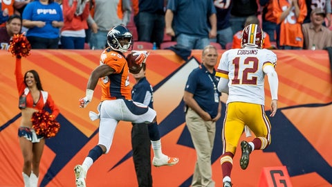 December 24: Denver Broncos at Washington Redskins, 1 p.m. ET