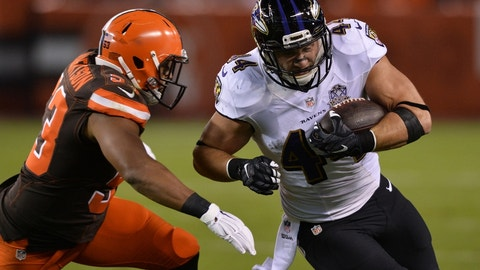 December 17: Baltimore Ravens at Cleveland Browns, 1 p.m. ET