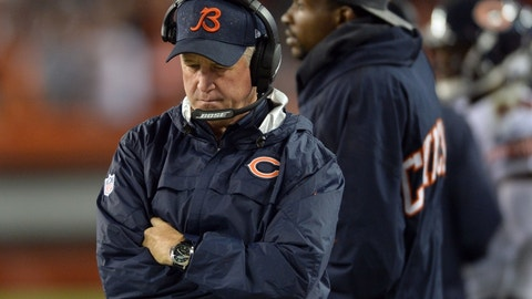 John Fox, Chicago Bears (Last week: 3)