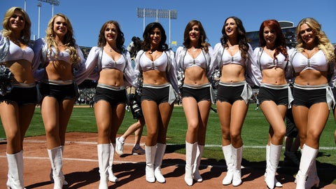 NFL cheerleaders in pictures -- Week 2