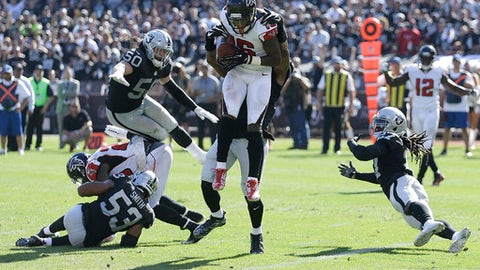 The Oakland Raiders defense makes history
