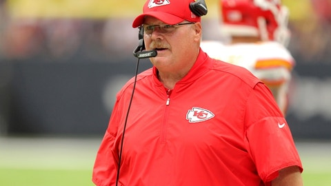 Andy Reid takes responsibility