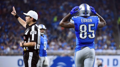 The Detroit Lions may as well wear yellow