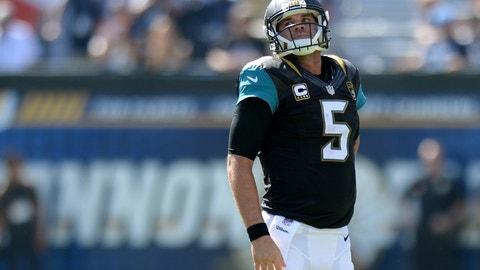 Blake Bortles, QB, Jacksonville Jaguars