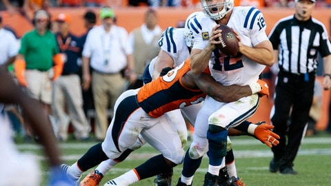 December 14: Denver Broncos at Indianapolis Colts, 8:25 p.m. ET