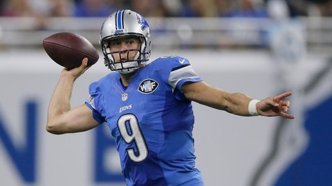 Sunday: Lions at Bears