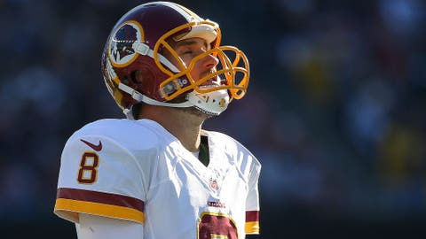 Redskins quarterback Kirk Cousins has a bad day at the office, the Packers can't get going and more of this week's worst