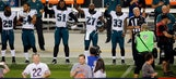 Jenkins leads several Eagles in protest before Bears game