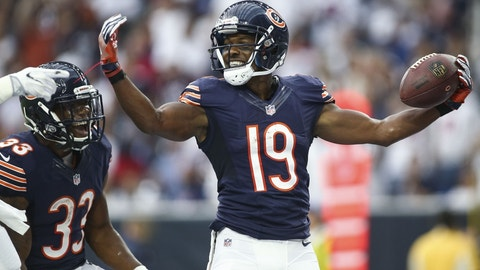 Eddie Royal, WR, Bears (toe): Active