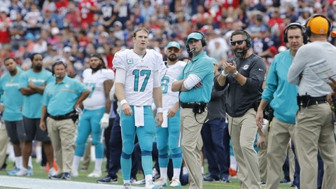 Miami Dolphins (3-4): 3 covers ATS