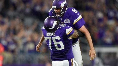 Minnesota Vikings: (last week: 10)